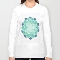 succulent Long Sleeve T-shirts featuring Succulent by Give me Violence