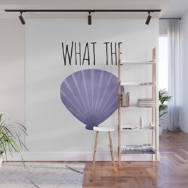 What The Shell Wall Mural