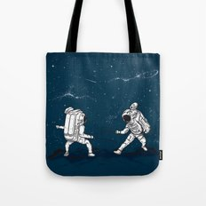 Fencing at a higher Level Tote Bag
