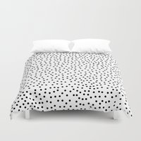 dots Duvet Covers featuring Dots.. by Priscila Peress