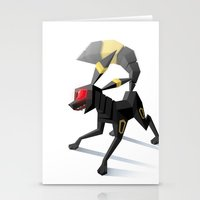 umbreon Stationery Cards featuring Umbreon by Versiris