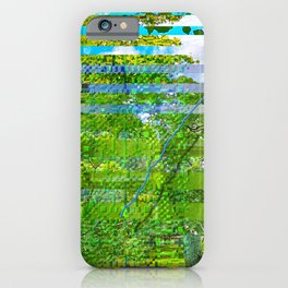 Landscape of My Heart (segment 1) iPhone Case