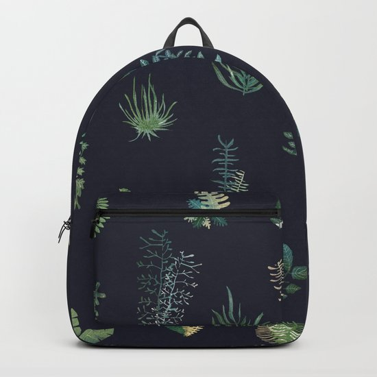 green garden at nigth Backpack