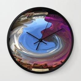 Purple Head Wall Clock