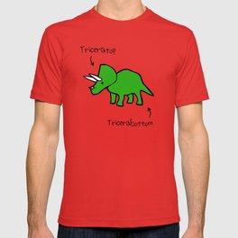 Triceratops Tricerabottom T-shirt