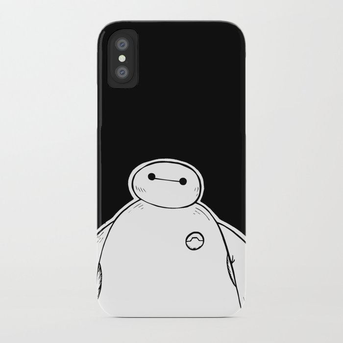 Baymax From Big Hero 6 Iphone Case By Joan Pons Society6