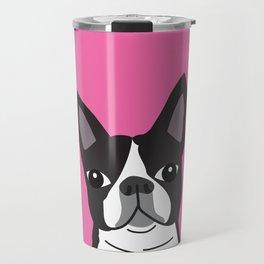 Boston Terrier Lilly Travel Mug