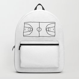 Basketball in lines Backpack
