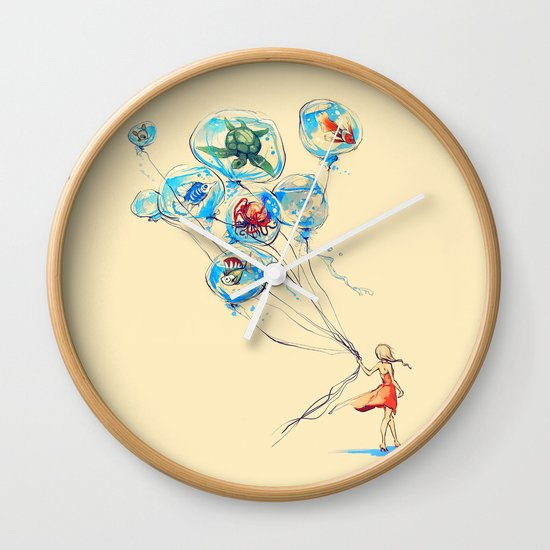 Water Balloons Wall Clock
