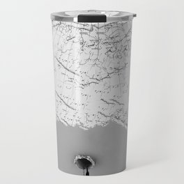 Draining Alaska Travel Mug