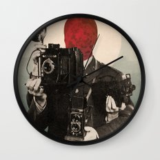 Solar Lens Wall Clock