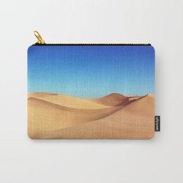 Scenic Sahara sand desert nature landscape Carry-All Pouch