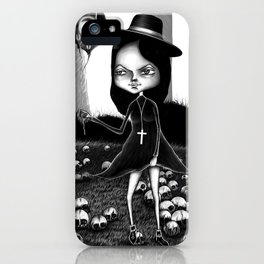Ride on Lawn iPhone Case