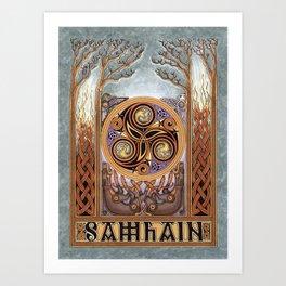 Samhain Art Print
