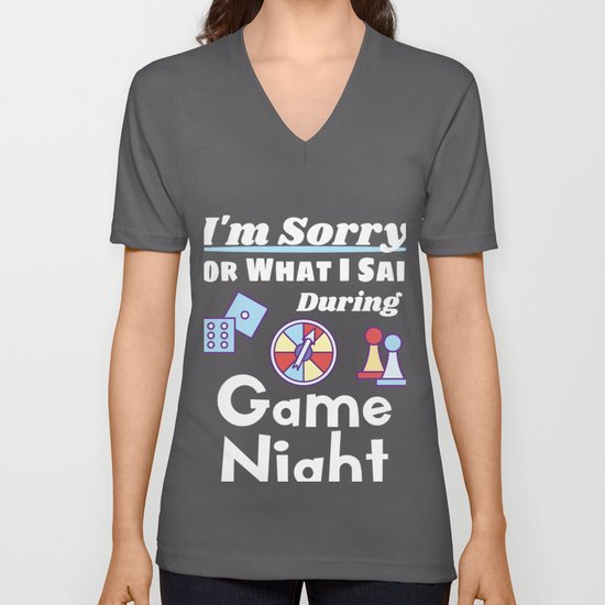 Funny Game Night product I'm Sorry For What I Said by hundredthmonkey