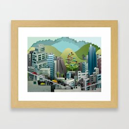 Caracas Framed Art Print