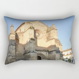 Golden San Miguel (Cordoba) Rectangular Pillow