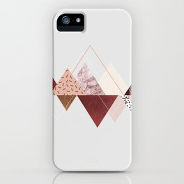 mountains 3 iPhone Case