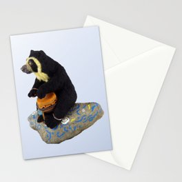 The Drummer Bear Stationery Cards