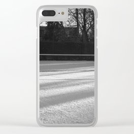 Tennis on snow 2 Clear iPhone Case