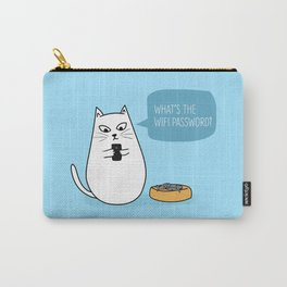 Wifi Cat Carry-All Pouch