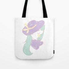 La fille mystérieuse Tote Bag
