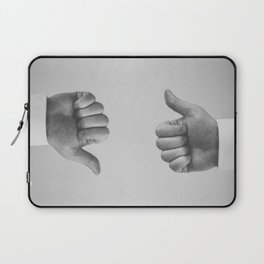 Ups and Downs Laptop Sleeve