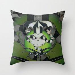 BeetleJack Throw Pillow