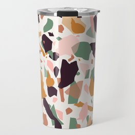 Terrazzo Print Travel Mug