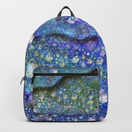 Dragon Tears Abstract Backpack