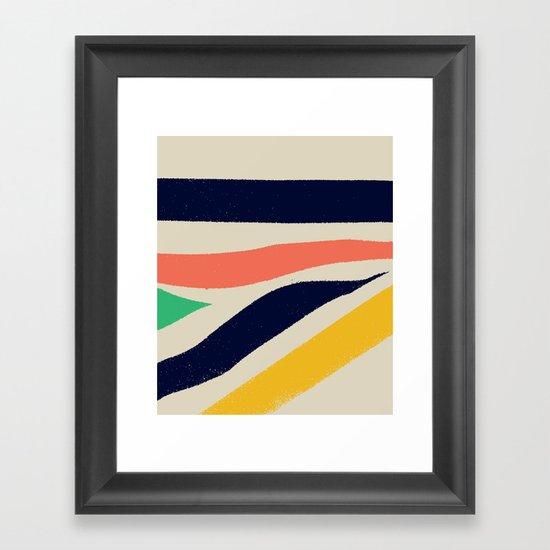 Born In The North — Matthew Korbel-Bowers Framed Art Print