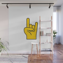 Hans Gesture - The Horns Wall Mural