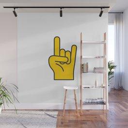 Hans Gesture - The Horns Wall Mural