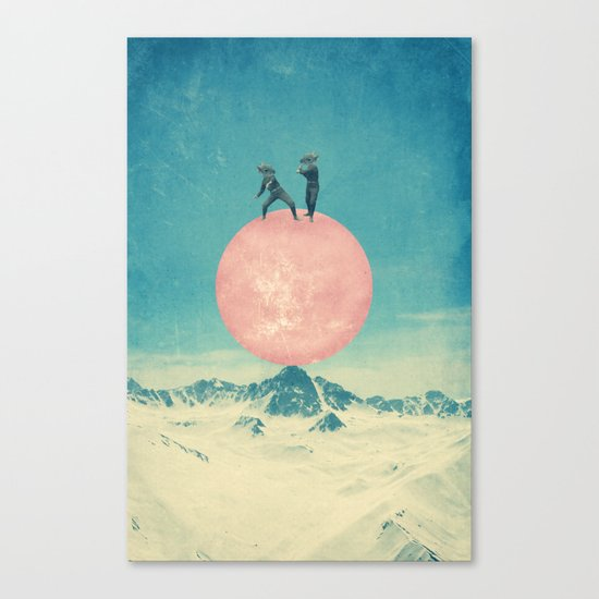 bayside high Canvas Print