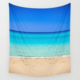 Beach on Crete Wall Tapestry