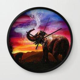 It's A Giraffe Wall Clock