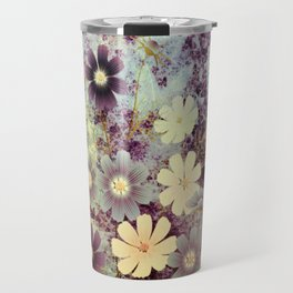 Cosmos and textures Travel Mug