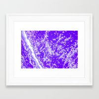 space jam Framed Art Prints featuring space jam by blair__berger