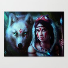 Mononoke Night Canvas Print
