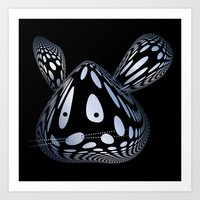 Bubble Mouse Art Print