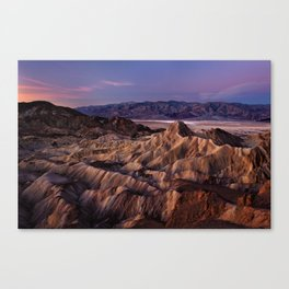 Zabriskie Point, Death Valley National Park Canvas Print