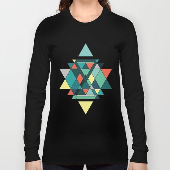 Abstract III Long Sleeve T-shirt