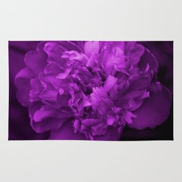 Peony In Ultra Violet Color #decor #society6 #buyart Rug