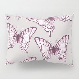 butterfly pattern in purple Pillow Sham