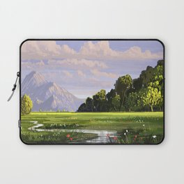 Rural Scape Laptop Sleeve