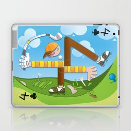Fore of Clubs Laptop & iPad Skin