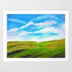Palouse Art Print