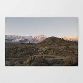 Alabama Hills / Eastern Sierras Canvas Print