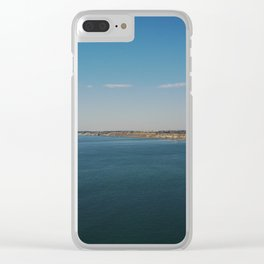 Japanese folding screens Clear iPhone Case