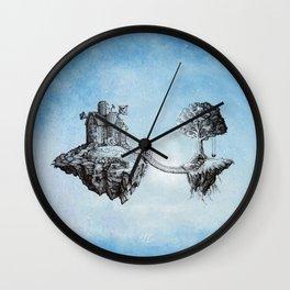 Dreaming of Stars - Illustration Wall Clock